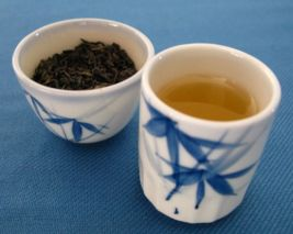 Gunpowder Tea: a Chinese green tea