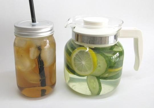 infused water iced tea